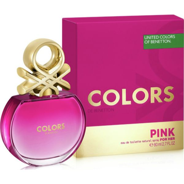 Benetton Colors Pink W EDT 80ml
