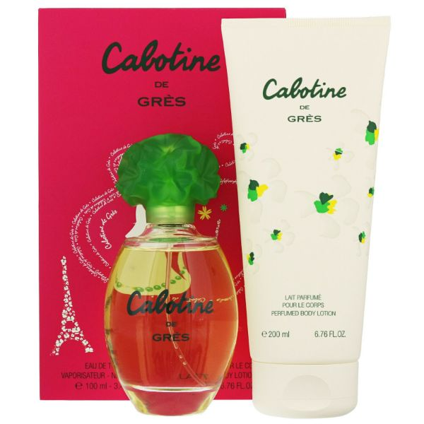 Gres Cabotine W Set / EDT 100ml / perfumed body lotion 200ml ET