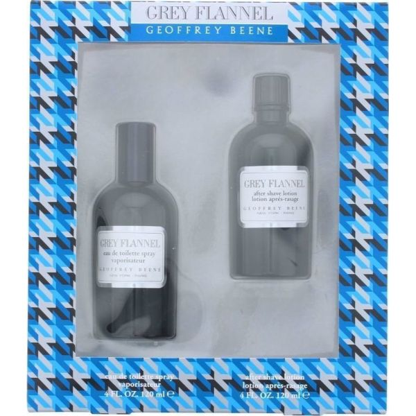 Geoffrey Beene Grey Flannel M Set / EDT 120ml / after shave lotion 120ml