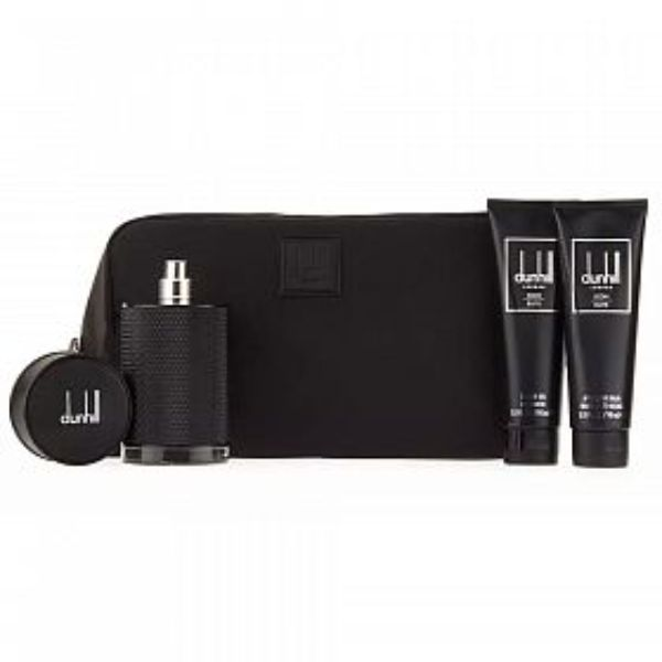 Dunhill Icon Elite M Set / EDP 100ml / after shave balm 90ml / shower gel 90ml / bag