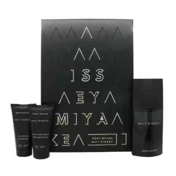 Issey Miyake Nuit d`Issey M Set / EDT 125ml / after shave balm 50ml / shower gel 75ml