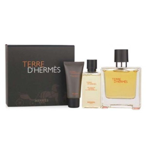 Hermes Terre D`Hermes M Set / EDT 100ml / after shave lotion 40ml / EDT 12,5ml