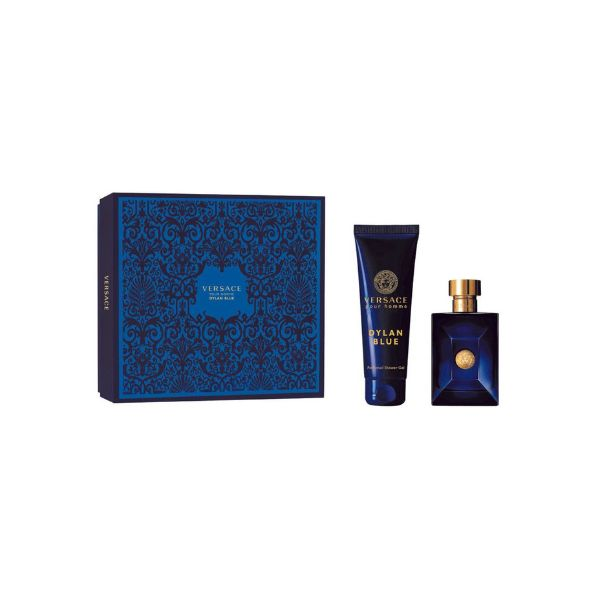Versace Dylan Blue M Set - EDT 100 ml + shower gel 150 ml