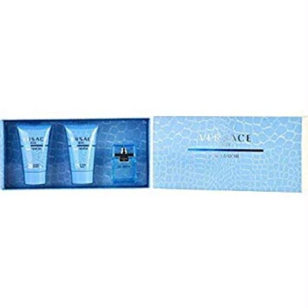 Versace Man Eau Fraiche M mini Set - EDT 5 ml + after shave balm 25 ml + shower gel 25 ml