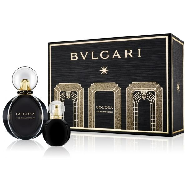 Bvlgari Goldea The Roman Night W Set - EDP 50 ml + EDP 15 ml /2017