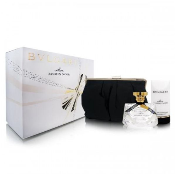 Bvlgari Mon Jasmin Noir W Set / EDP 75ml / body lotion 75ml / bag