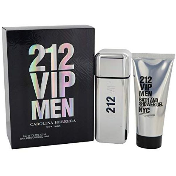 Carolina Herrera 212 VIP M Set / EDT 100ml / shower gel 100ml