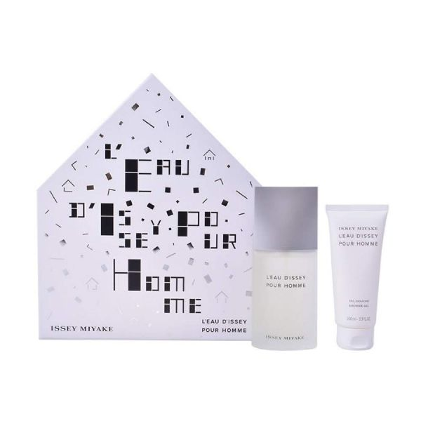 Issey Miyake L`Eau d`Issey M Set / EDT 125ml / shower gel 75ml