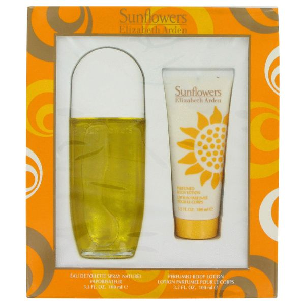 Elizabeth Arden Sunflowers W Set / EDT 100 / body lotion 100ml
