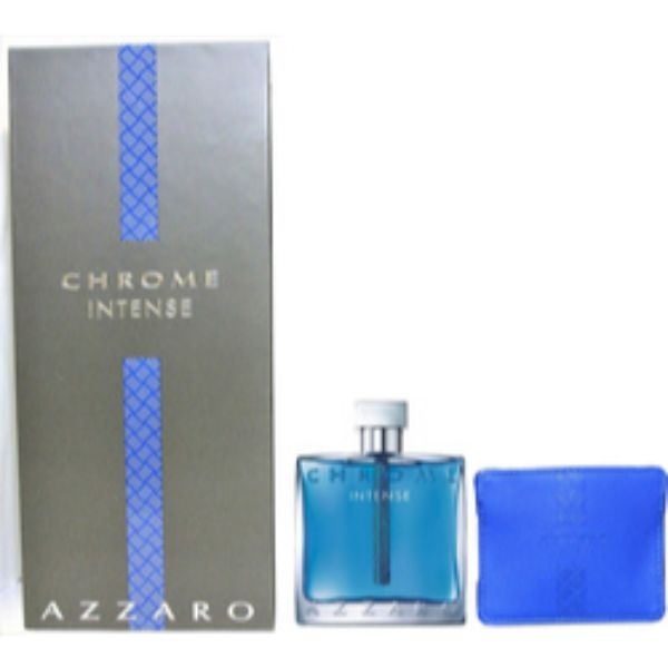 Azzaro Chrome Intense M Set - EDT 100 ml + Credit Card holder