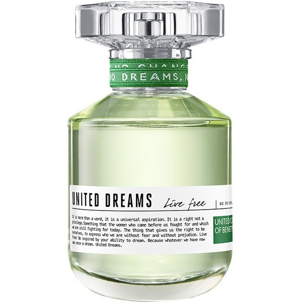 Benetton United Dreams Live Free W EDT 80ml Tester